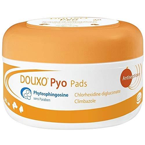 Sogeval Douxo 30 Count Chlorhexidine 3-Percent PS Pads by Douxo