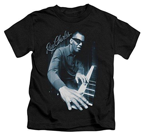 Juvenile: Ray Charles - Blues Piano Kids T-Shirt Size 4