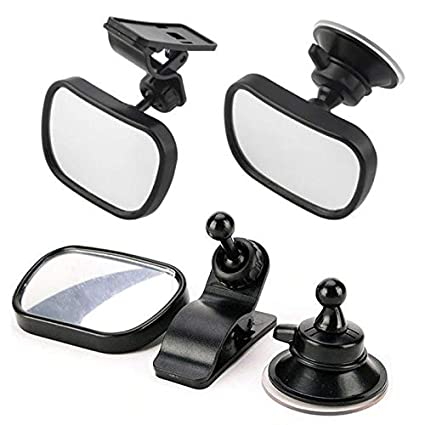 Amazon.com: Car Rear Seat View Baby Child Safety Mirror Clip ...