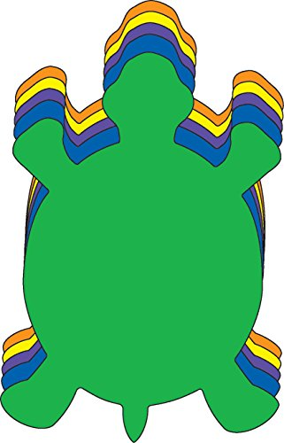 Turtle Small Assorted Color Creative (Turtle Cut Out Design)