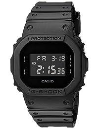 Casio Men's 'G SHOCK' Quartz Resin Casual Watch, Color:Black (Model: DW-5600BB-1CR)