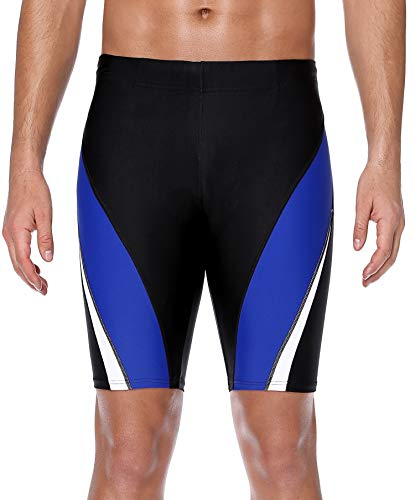 - ATTRACO Mens Training Jammers Durable Quick Dry Water Beach Shorts Royal 36