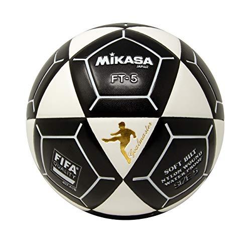 (Mikasa FT5A Goal Master Soccer Ball, White/Black, Size 5)