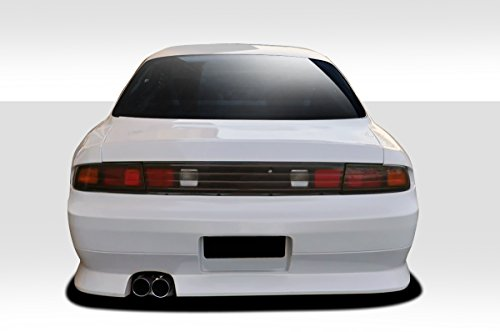 1995-1998 Nissan 240SX Duraflex V-Speed Wide Body Rear Bumper Cover - 1 (240sx V-speed Rear Bumper)