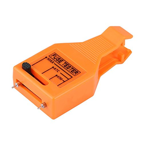 Automotive Blade Fuse Puller, Keenso Multi-functional Car Blade Fuse Checker Tester Removal Tool for Mini/Standard Blade -