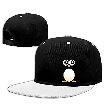JOWWX-CAP& Cute Penguin Men's Women's Snapback Baseball Cap Adjustable Flat Bill Trucker Hats