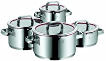 WMF Function 4, 8pc Stainless Steel Cookware Set