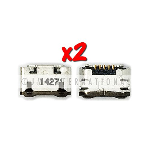 ePartSolution-2X Motorola Moto X 2nd Gen XT1092 XT1093 XT1094 XT1095 USB Charger Charging Port Dock Connector USB Port Repair Part USA Seller