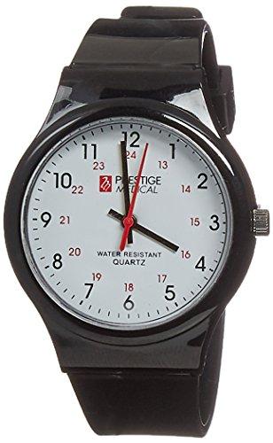 Prestige Medical Student Scrub Watch, Black, 1.65 -