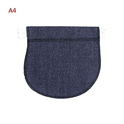 40eb76382f92c Jean Pregnant - 1pc Maternity Pregnancy Waistband Belt Adjustable Elastic Waist  Extender Clothing Pants - Supplement