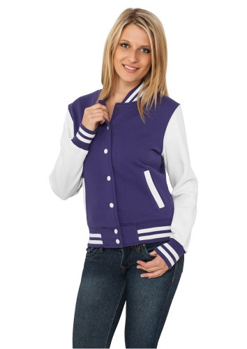Classics White Purple Multicoloured para Urban Sudadera Mujer dqxFawTw6
