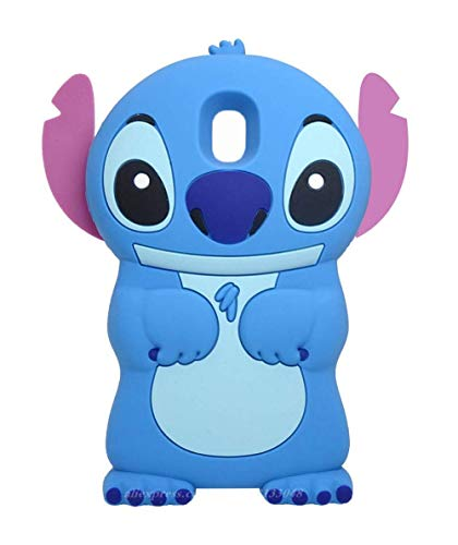 BatKing Cute Alien Dog Case for for Samsung Galaxy J3 2018/J3 Achieve/J3 Star/Amp Prime 3,3D Cartoon Animal Cute Soft Silicone Rubber Cover,Animated Cool Cases for Kids Teens Girls (Star Disney)