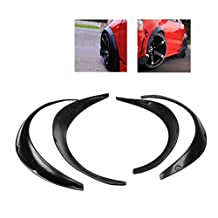 Ruien Universal Fender Flares Over Wide Body Wheel Arches 2pcs 2.75 inch (70mm) and 2pcs 2.inch (50mm)