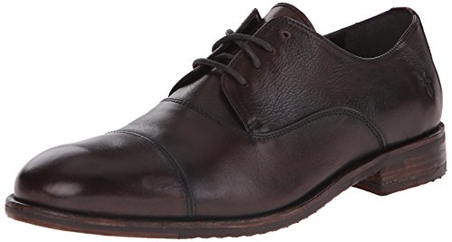 (FRYE Men's Sam Oxford, Dark Brown, 10 M)