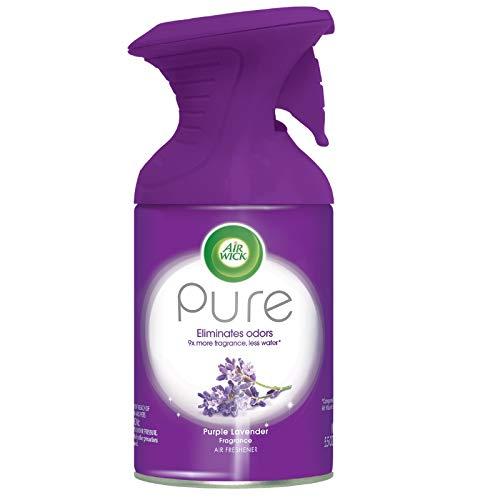 AirWick Pure Premium Aerosols - Purple Lavender, 5.5 oz, 1 ct (Pack of 6)