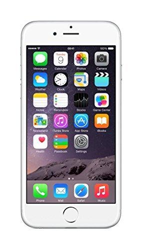 Apple iPhone 6, GSM Unlocked, 64GB, Silver (Certified Refurbished)