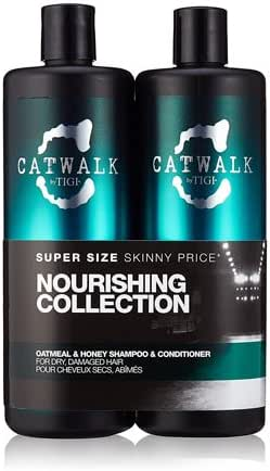 TIGI Catwalk Oatmeal & Honey Shampoo and Conditioner Tween Duo 2 x 750ml