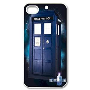 2015 Hot Tardis Doctor Dr Who Police Box Hard Back Case Cover For Iphone 4 4S case cover TPUKO-Q792649