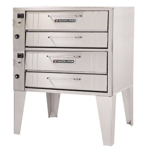 352 Bakers Pride - Pizza Deck Oven, gas, double d (Ovens Outdoor Pizza Gas)