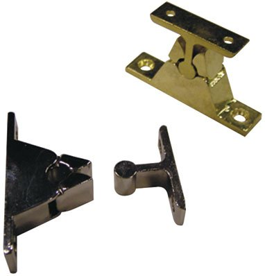 Door Holder with Clamping Mechanism, Distance from Wall 35  mm Chrome-Plated Zamak, 1  Piece Distance from Wall 35 mm Chrome-Plated Zamak 1 Piece IBFM 10-10713