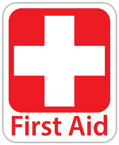 emergency-first-aid-kit-4x5-safety-sign-sticker-decal-vinyl-red-cross