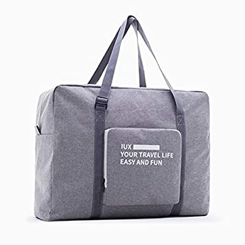d2d3810c0c77 Amazon.com : Saasiiyo Fashion Nylon WaterProof MenTravel Bag Women ...