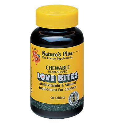 Nature's Plus Love Bites Children's Chewable Multi-Vitamin and Mineral — 90 Tablets Review