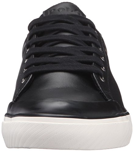 Polo Ralph Lauren Men's Ian Sport Leather Fashion Sneaker Black cheap marketable good selling for sale big sale cheap online buy cheap in China with credit card free shipping TBkxT