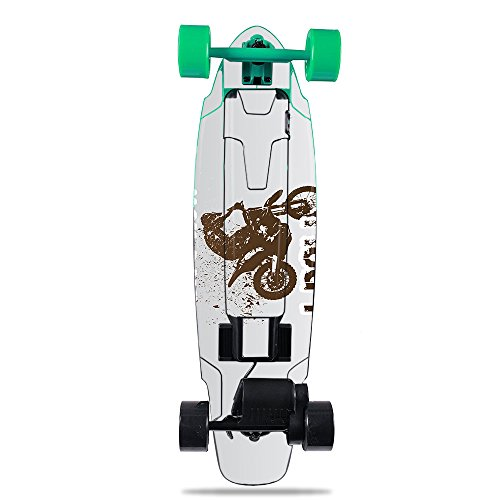 MightySkins Skin for Yuneec E-GO2 Electric Skateboard - Motocross | Protective, Durable, and Unique Vinyl Decal wrap Cover | Easy to Apply, Remove, and Change Styles | Made in The USA