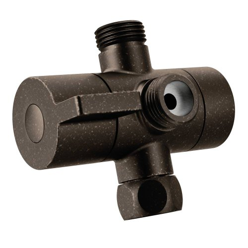 (Moen CL703ORB Shower Arm Diverter, Oil Rubbed Bronze)