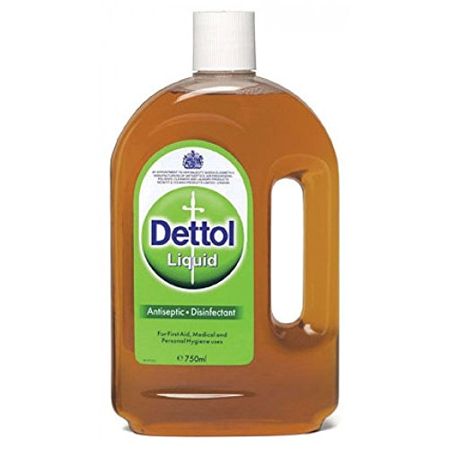 Dettol Topical Antiseptic Liquid 25.35 FL.OZ.(750ml) (First Aid Disinfectant)