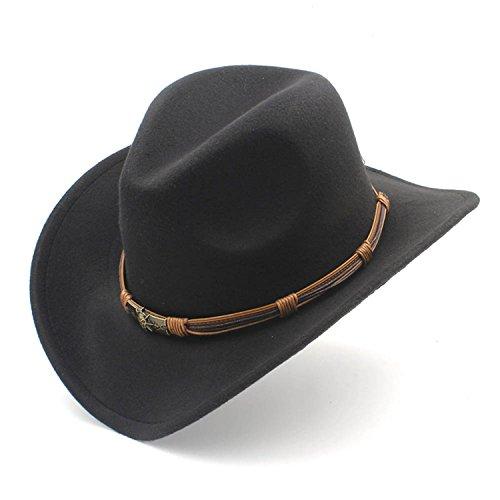 Women's Men's Wool Hollow Hat Sun God Belt Cowgirl Jazz Toca Sombrero Godfather Cap - Clipart God