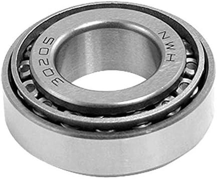 Fiween Kegelrollenlager 30205, einreihig, 25 mm x 52 mm x 16,25 mm, Kegelrollenlager Silber