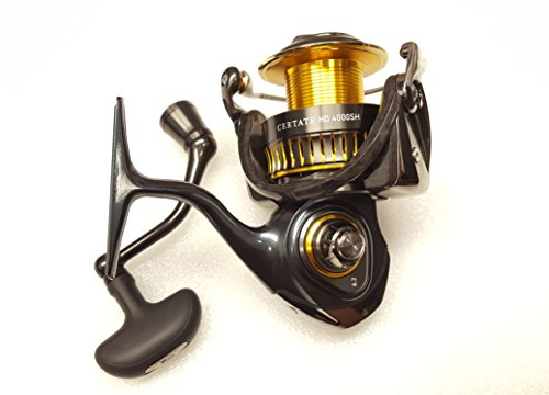 Daiwa Certate HD 4000SH 6.2:1 Spinning Fishing Reel - CERTATE-HD4000SH-JDM