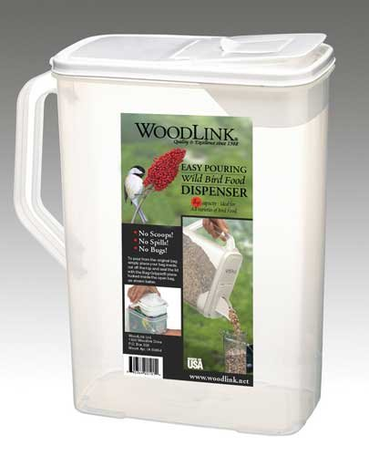 8 Quart Seed Container - Bird Seed Container 8 QT