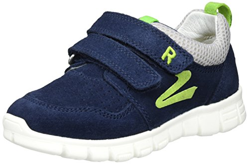 Richter Kinderschuhe Run - Zapatillas Niños Blau (atlantic/flint/apple)