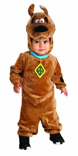 Scooby Doo Romper Costume, Brown, 12-18 Months (Scooby Doo Halloween Costume)