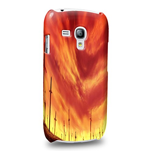 Case88 Premium Designs Fate Stay Night Unlimited Blade Works Protective Snap-on Hard Back Case Cover for Samsung Galaxy S3 mini