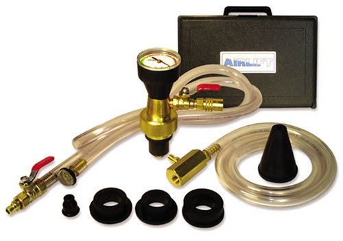 UView 550000 Airlift Cooling System Leak Checker and Airlock Purge Tool - Cooling System Truck