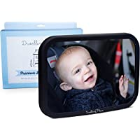#1 Premium Back Seat Mirror - Clear Reflection & Shatterproof   Monitor your ...