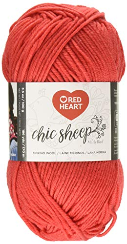 RED HEART R170.5254 Chic Sheep Yarn by Marly Bird, Sunset