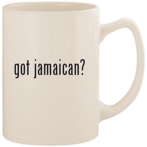 got jamaican? - White 14oz Ceramic Statesman Coffee Mug Cup