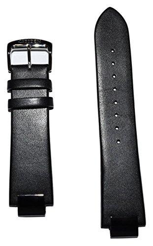 Original Citizen Eco-Drive Axiom Black Leather Band Strap for Men's Watch Model AU1065-07E