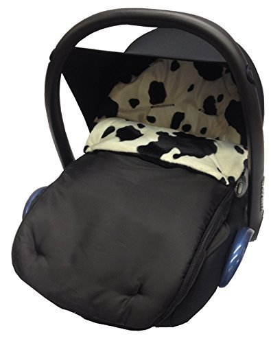 /Vaca Animal Print coche asiento saco//Cosy Toes Compatible con Maxi Cosi Cabrio y Pebble/