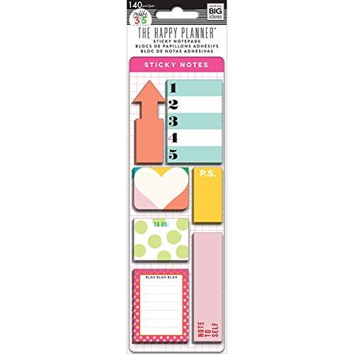 Me & My Big Ideas Create 365 The Happy Planner Sticky Notes - (Sticky Note Program)