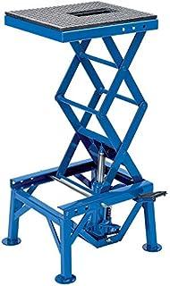 Festnight Table /Él/évatrice en Acier Q235 pour Motos Rouge 135kg 35 x 41cm