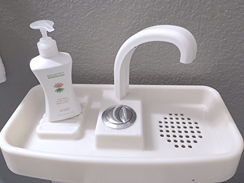 Sink Twice modified to function with Water Ridge Dual Flush