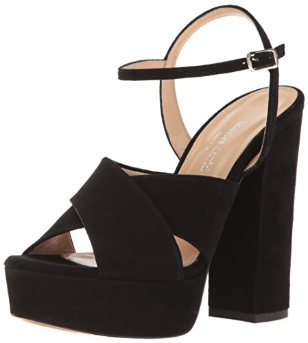 Charles David Womens Rima Robe Plate-forme Sandale Noire