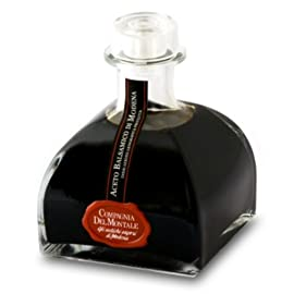 Compagnia Del Montale Special Edition Balsamic Vinegar IGP, Produced in Italy, 8.8 Ounce 3 CREATED WITH GRAPES FROM EMILIA ROMAGNA VINEYARDS - This very special balsamic vinegar was produced using the finest grapes from Emilia Romagna vineyards. They are ripened in French oak barriques, or barrels, and there they obtain a velvety texture that makes this thick balsamic vinegar so distinct and well rounded. SPECIAL EDITION - In celebration of an outstanding year of award recognitions, Compagnia del Montale created this balsamic vinegar to share with the world. The vinegar comes in a lovely Special Edition Anniversary bottle with a distinct shape AGED 6-8 YEARS - Each bottle of the Special Edition Balsamic Vinegar has been aged 6-8 years in order