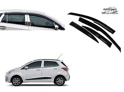 Autorepute Car Rain Wind Door Visor Side Window Deflector Hyundai Grand i10   Amazon.in  Car   Motorbike 455bb56f1d8